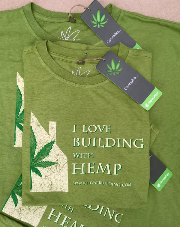 Building with Hemp T-Shirts